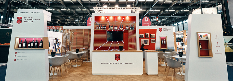 GL events, the specialist in made-to-measure stands |