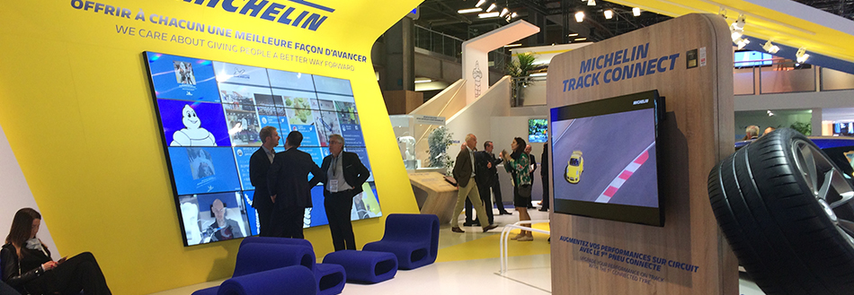 Design and management of your premium stand projects |