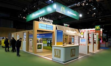 STAND MAC DONALD - SALON INTERNATIONAL DE L'AGRICULTURE - PARIS - 2014