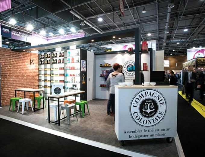 STAND COMPAGNIE COLONIALE - SIAL 2016