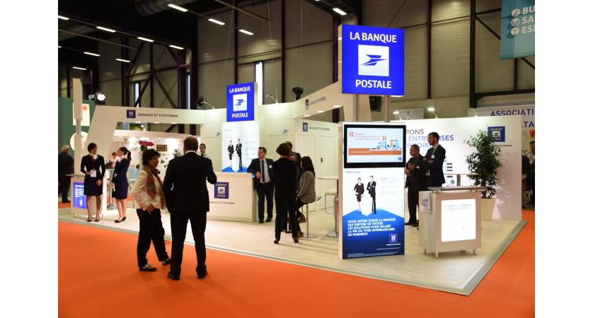 Stand La Banque Postale H Expo Montpellier 2015