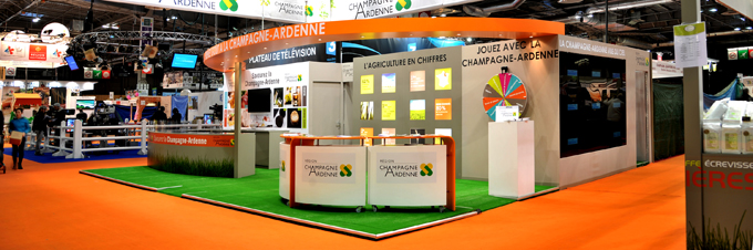 PAVILLON CHAMPAGNE-ARDENNE - SALON INTERNATIONAL DE L'AGRICULTURE 2015