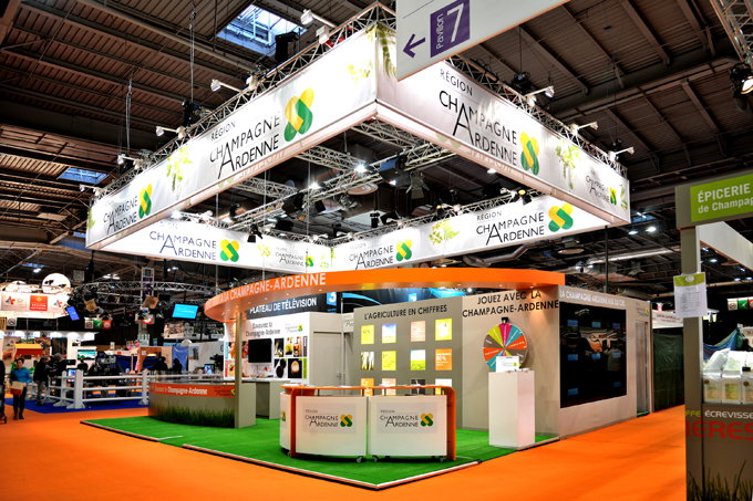 Champagne ardenne pavilion paris international for Chambre agriculture champagne ardenne