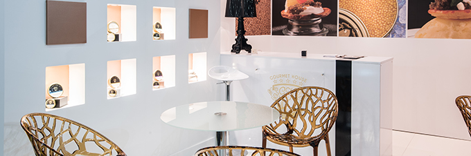 STAND GOURMET HOUSE - SIAL 2016